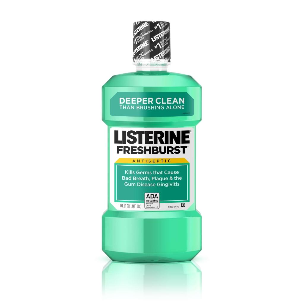FRESHBURST® LISTERINE® Antiseptic Mouthwash