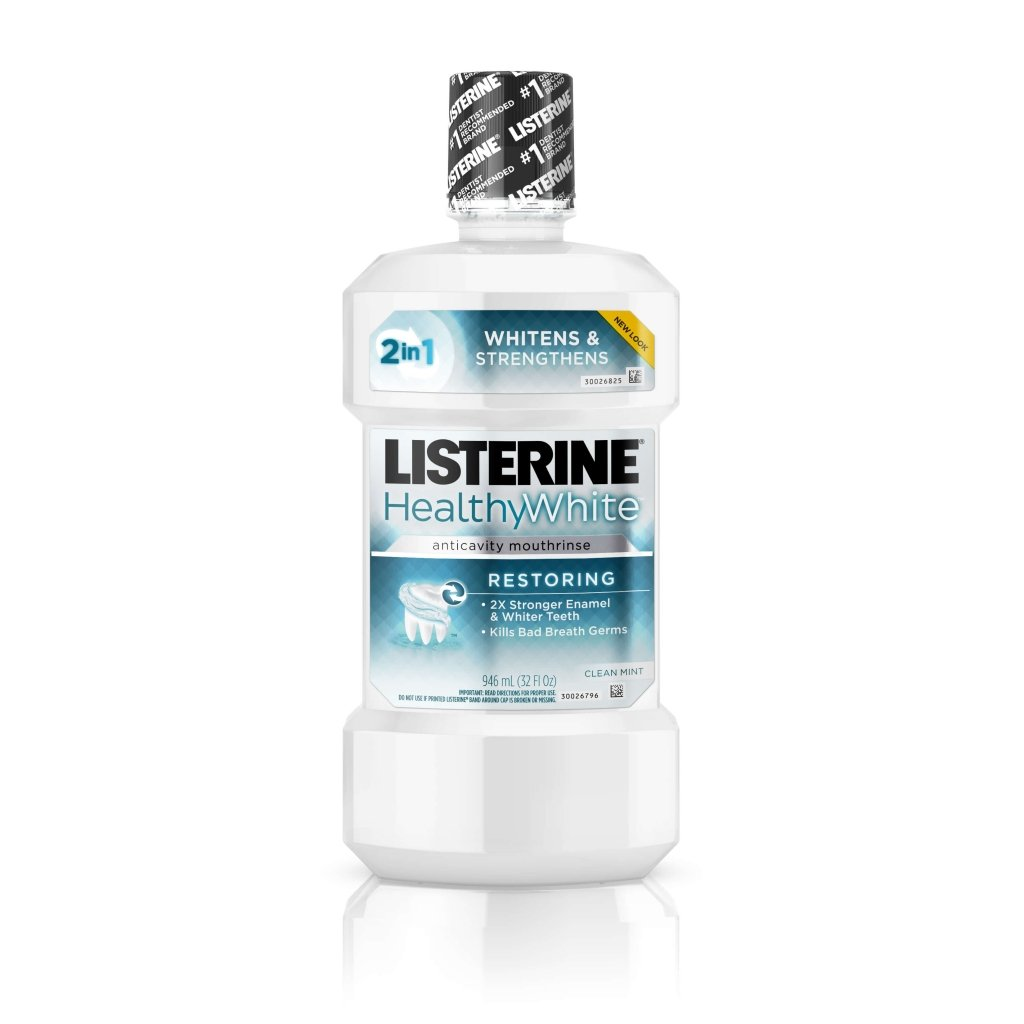 LISTERINE® HEALTHYWHITE™ RESTORING Anticavity Mouthrinse
