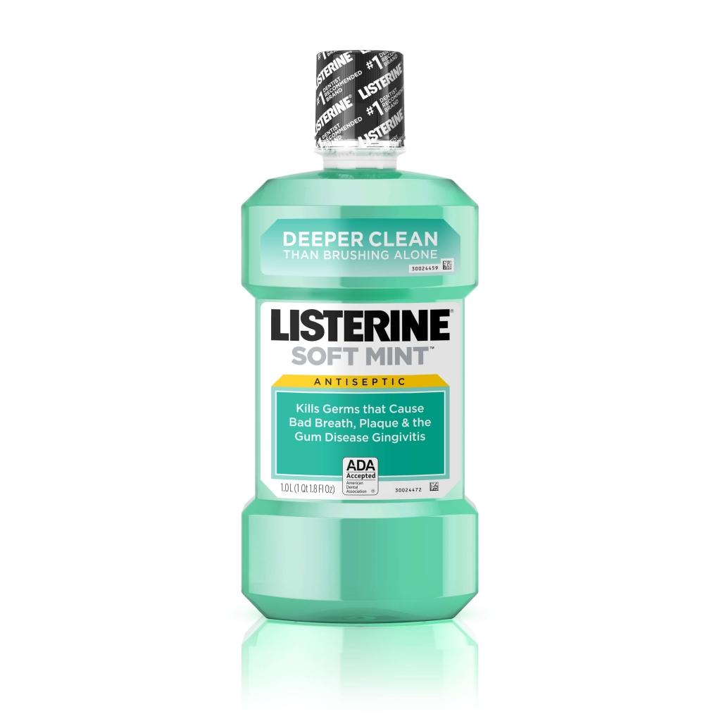 SOFT MINT LISTERINE® Antiseptic Mouthwash