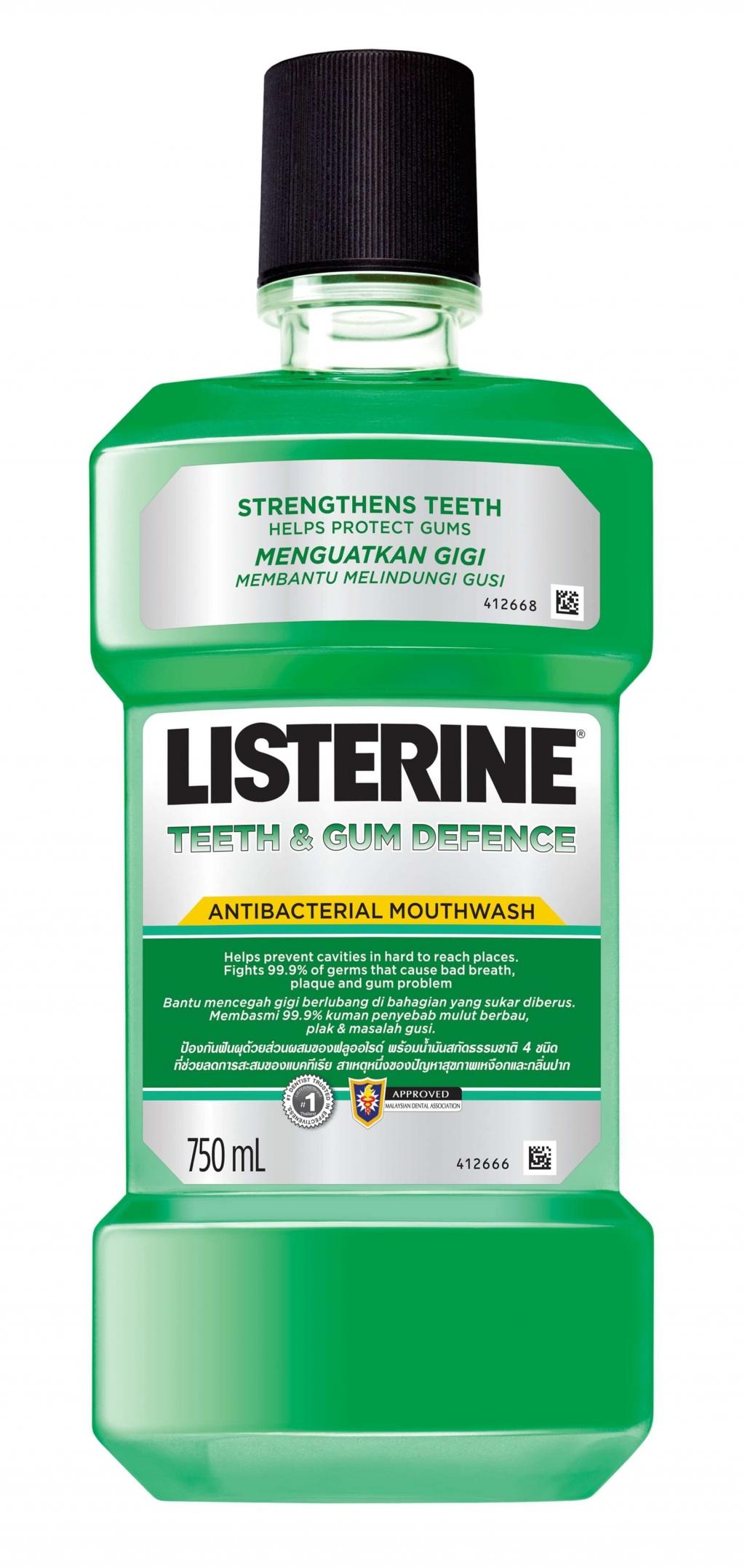 น้ำยาบ้วนปาก ลิสเตอรีน ทีธ แอนด์ กัม โพรเทคชัน