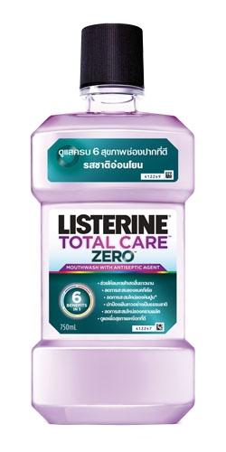 น้ำยาบ้วนปาก ลิสเตอรีน โทเทิล แคร์ ซีโร่